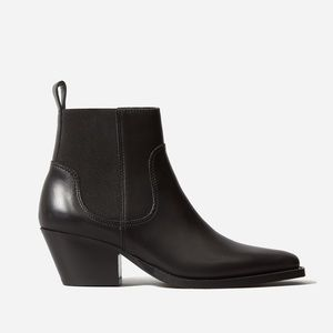Everlane Leather Western Boot (size 8.5)